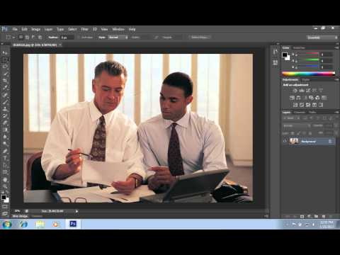 How to make a higher resolution image in photoshop cs6