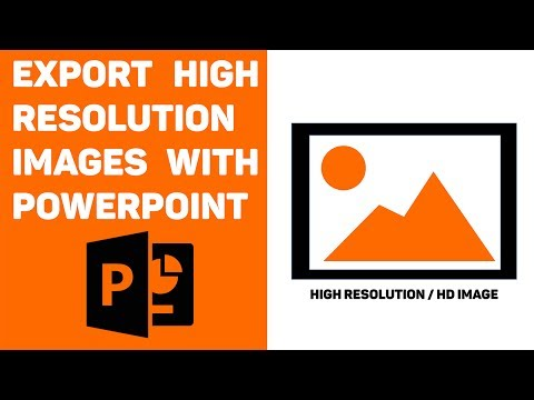 Powerpoint tutorial: export high resolution images