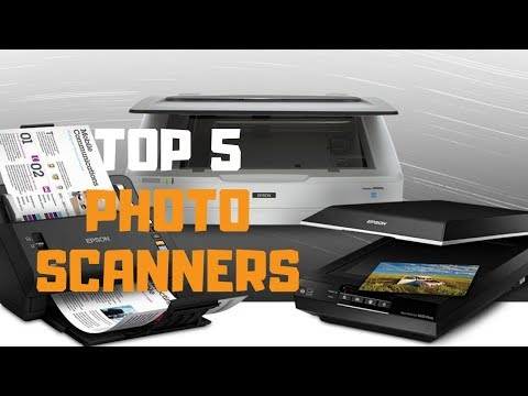 Best photo scanner in 2019 - top 5 photo scanners review
