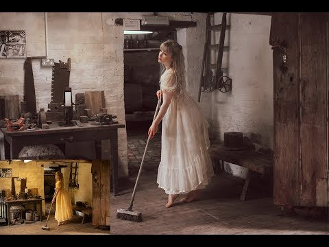 How to edit a photo to look like a painting - photoshop tutorial - painterly edit