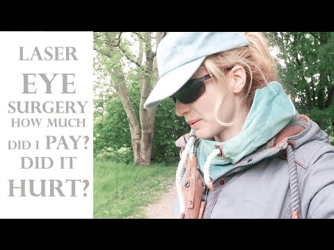 How much did i pay for my laser eye surgery? transprk did it hurt? was it worth it?